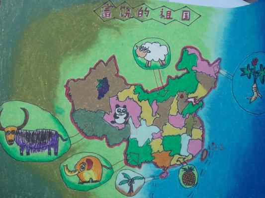 园南小学积极参与全国少儿手绘地图大赛活动
